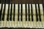 Hohner Pianet N keys prior to restoration