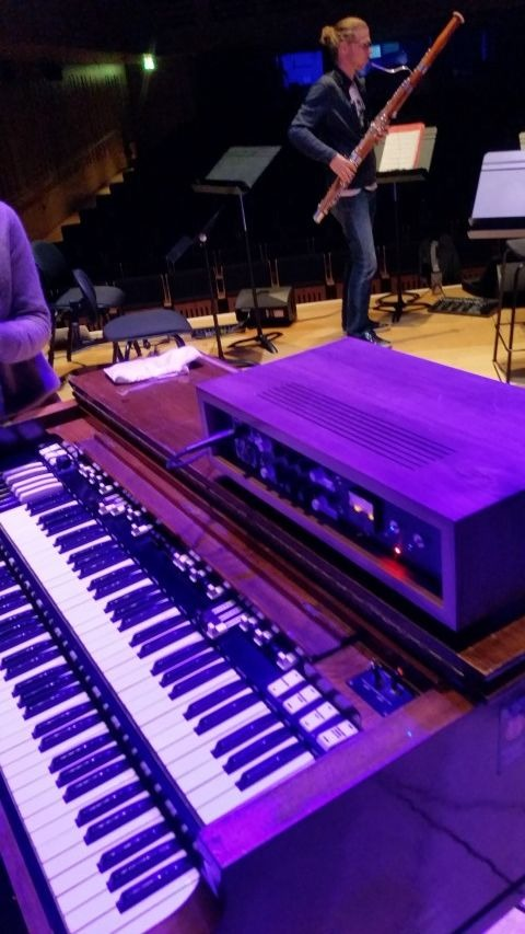 Hammond B3 and the Hammond Hire H.Box at King's Place, London