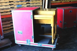 c 1955 Hammond B3 blonde, cased and ready to roll