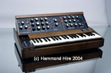 A famous Minimoog restored to it's former glory